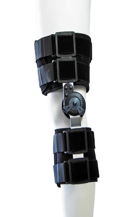 Νάρθηκας μηροκνημικός λειτουργικός με γωνιόμετρο