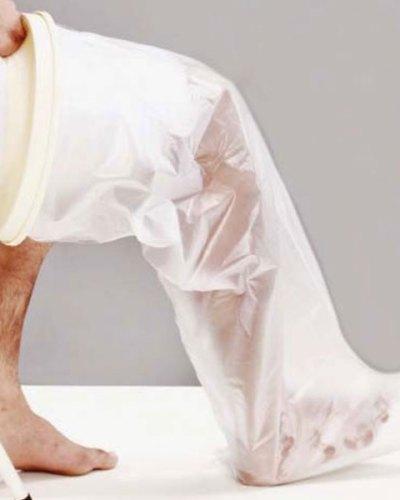 Leg Cast Cover προστατευτικό αδιάβροχο πλαστικό κάλλυμα
