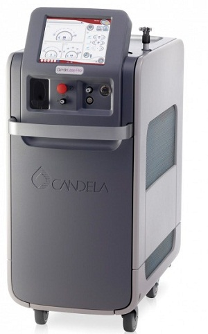 Candela Gentlemax Pro 755nm and 1064nm Dual Wavelength with Low Pulses