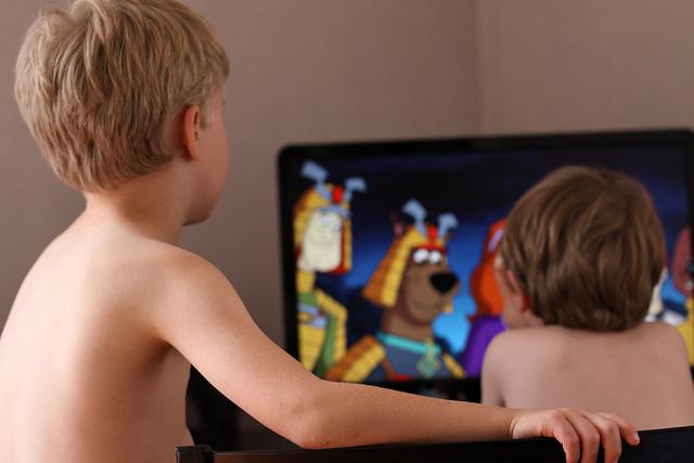 дети, телевизор