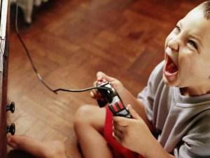 видеоигры, дети, поведение