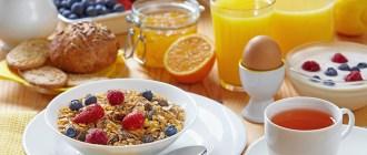 Сахарный диабет, завтрак, белок