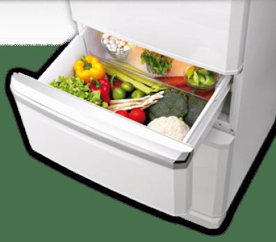 холодильник, фрукты, овощи