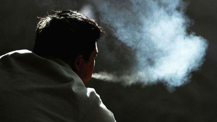 курение, шизофрения