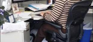 сидячий образ жизни, офисные работники, педали