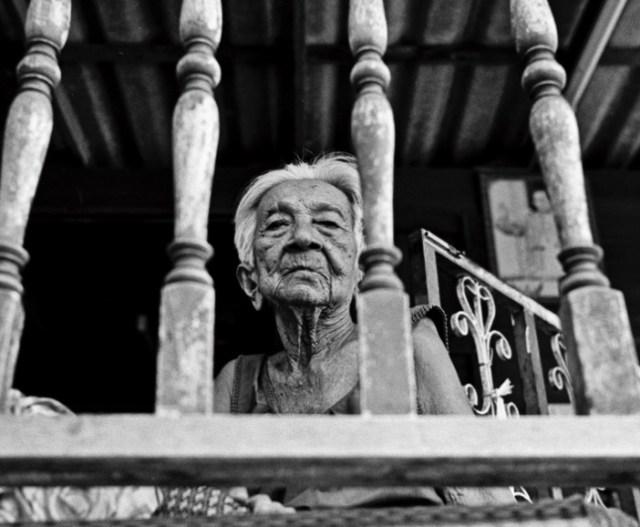 пожилые люди, поликлиника