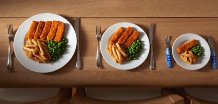 порция, еда, ожирение