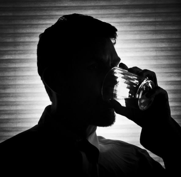 хронический алкоголизм, печень