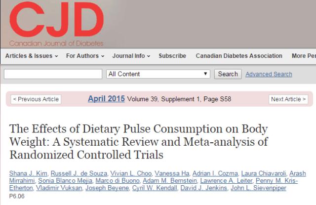 бобы, потеря веса, The American Journal of Clinical Nutrition