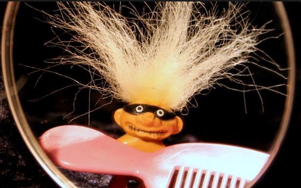 синдром нерасчесываемых волос,