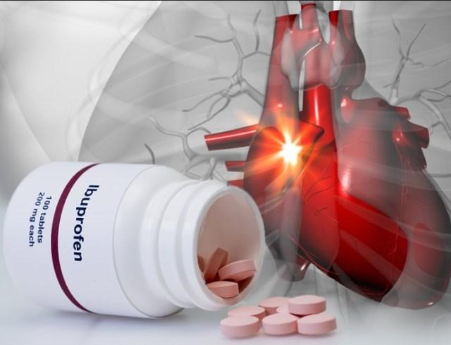 НПВС, простуда, сердечно-сосудистые заболевания, ибупрофен, инфаркт миокарда
