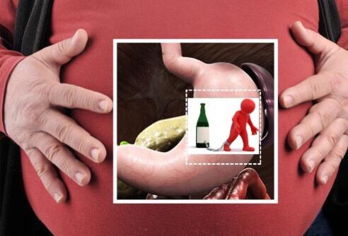 бариатрическая хирургия, алкогольная зависимость