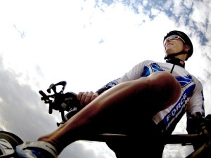 езда на велосипеде, стресс, напряжение