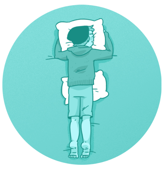 Сон, живот, лицом вниз