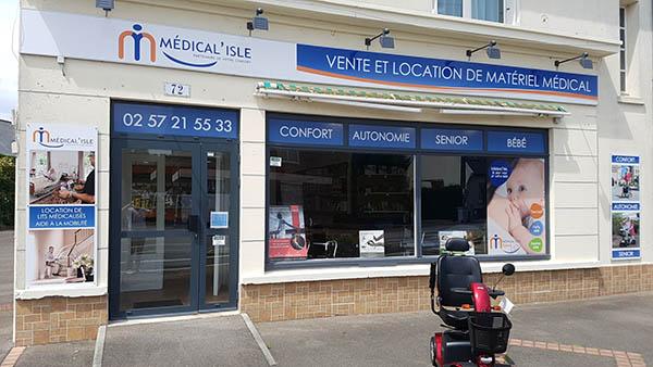 vente et location de matériel médical à Rennes Le Rheu