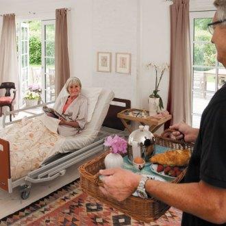 amenagement chambre personne agees