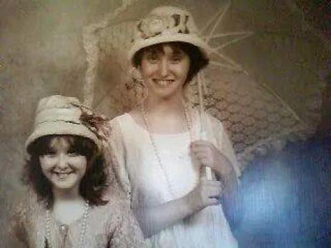 Catrina Owen on the left and Angel Owen on the right in 2010 before being separated from their parents.
