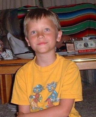 Brady Folkens little boy