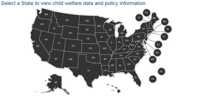 child welfare data by state