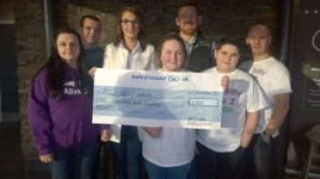 Money raised for Billy Cadwell