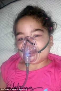 Sick australian child