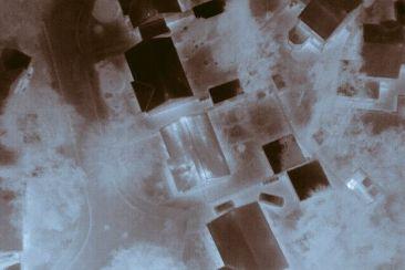 British cannabis grow operation drone footage