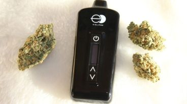 vapouriser and cannabis
