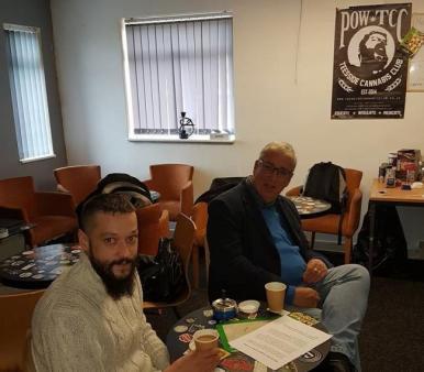 Cannabis Club with PCC Arfon Jones