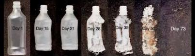 hemp plastic bottles degrading