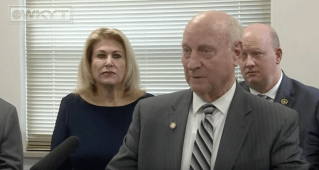Kentucky Republican Senator cannabis press conference, Senator Seum