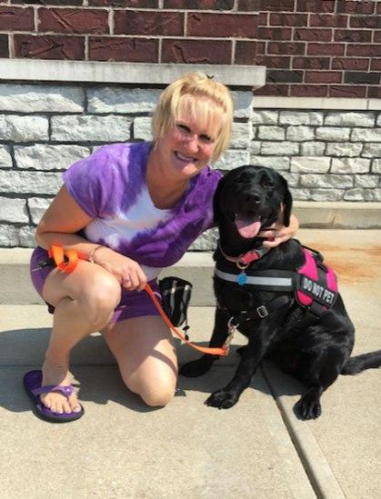 Robin, the school dog – Tammy Beechler