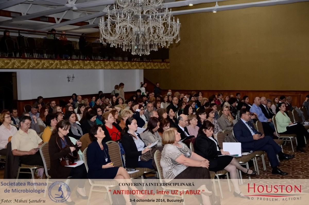 """Conferința interdisciplinară """"Antibioticele între UZ și ABUZ"""", ediția a II-a 30-31 martie 2018, Ramada Parc, București"""
