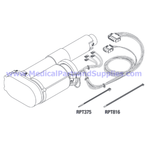Hand Control Coiled Cord for the Midmark-Ritter® 411 (75L