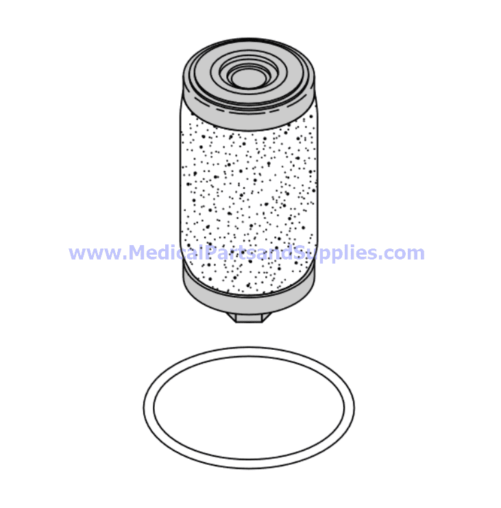 Oil Mist Filter for the Sterrad® 100S, Part SDF022 (OEM