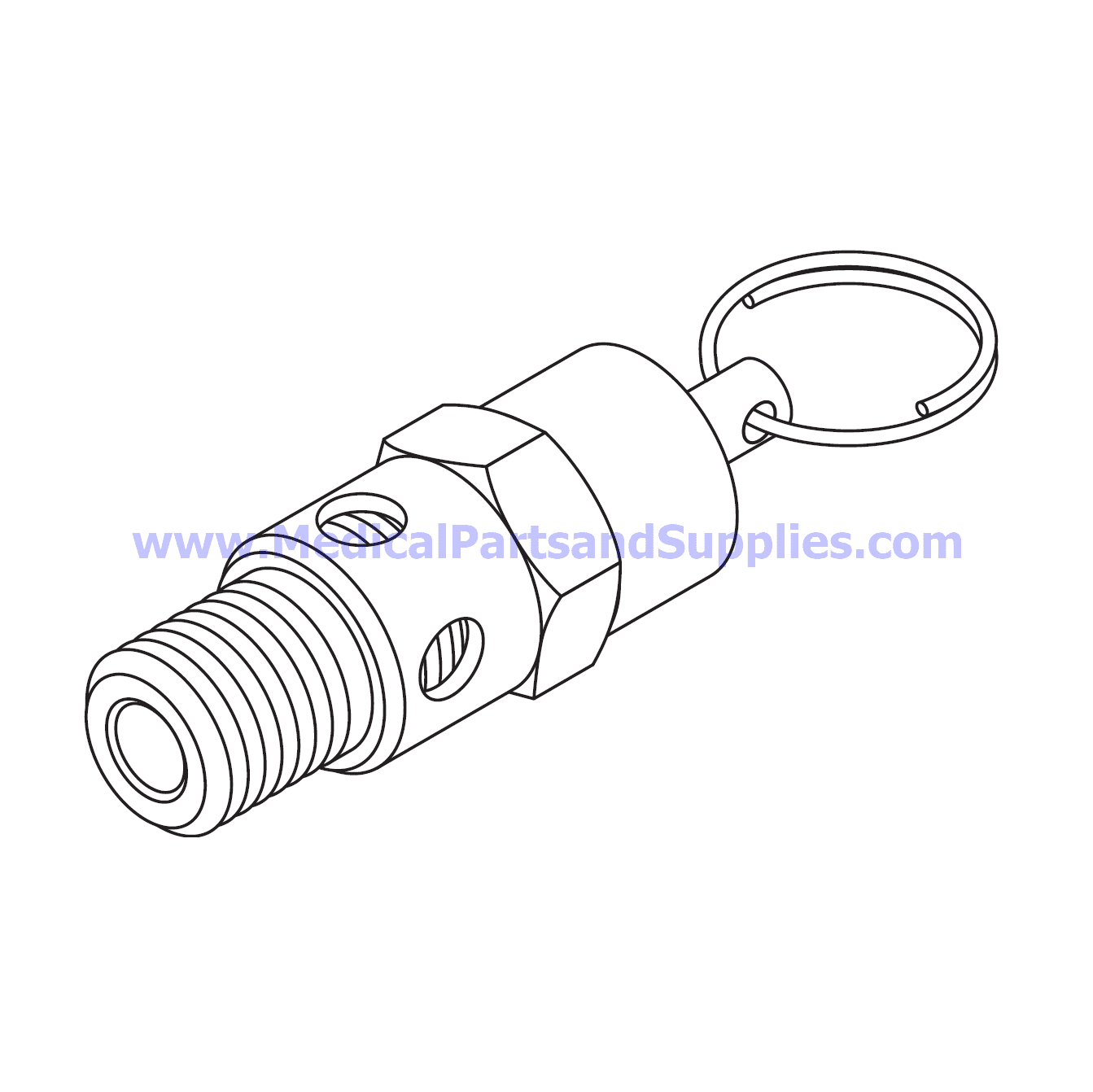 Safety Valve 125 Psi For The Air Techniques Airstar 1