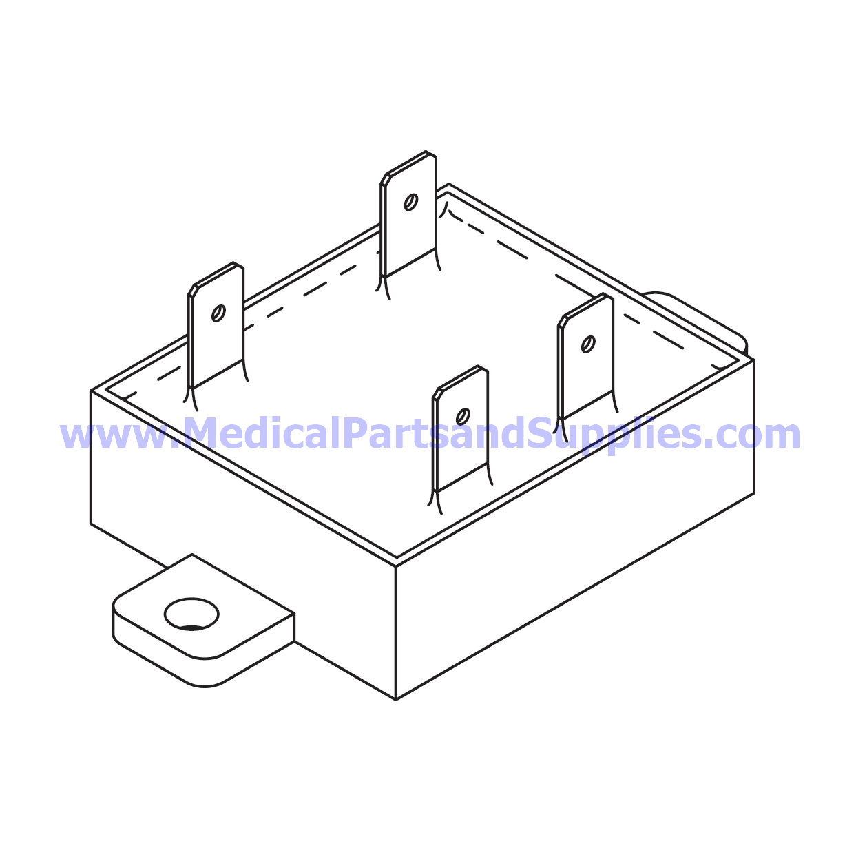 Solid State Relay (Pump) for the Tuttnauer® EZ10, Part