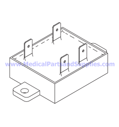 solid state relay pump for tuttnauer automatic autoclaves part tur105 part [ 1243 x 1247 Pixel ]