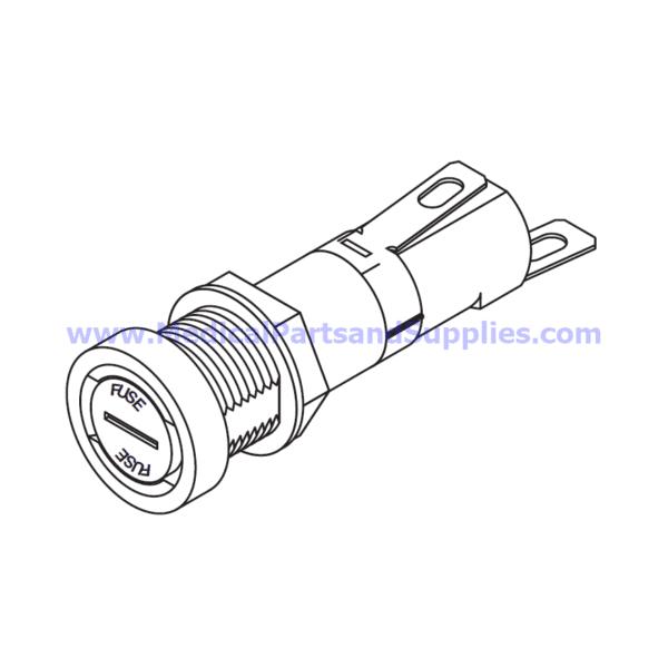 Fuse Holder for the Tuttnauer® 3850EA, Part RPH659 (OEM