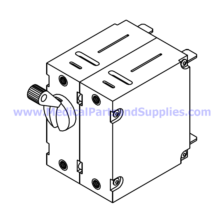 Circuit Breaker (15A) for the Tuttnauer® EZ9, Part TUB023