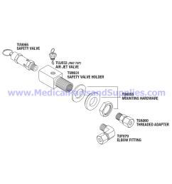safety valve holder kit 40 psi part tuk077 [ 1584 x 1586 Pixel ]