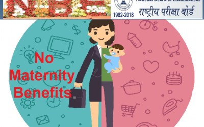 NBE removes clause of maternity leave from its new leave guidelines, contrary to the Maternity Benefit (Amendment) act 2017