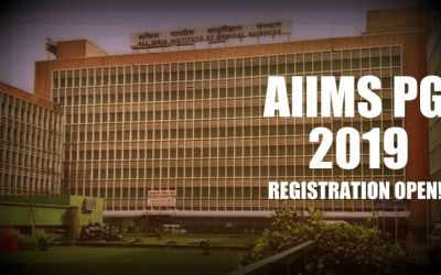 AIIMS PG July 2019 registration begins, Here are the details!