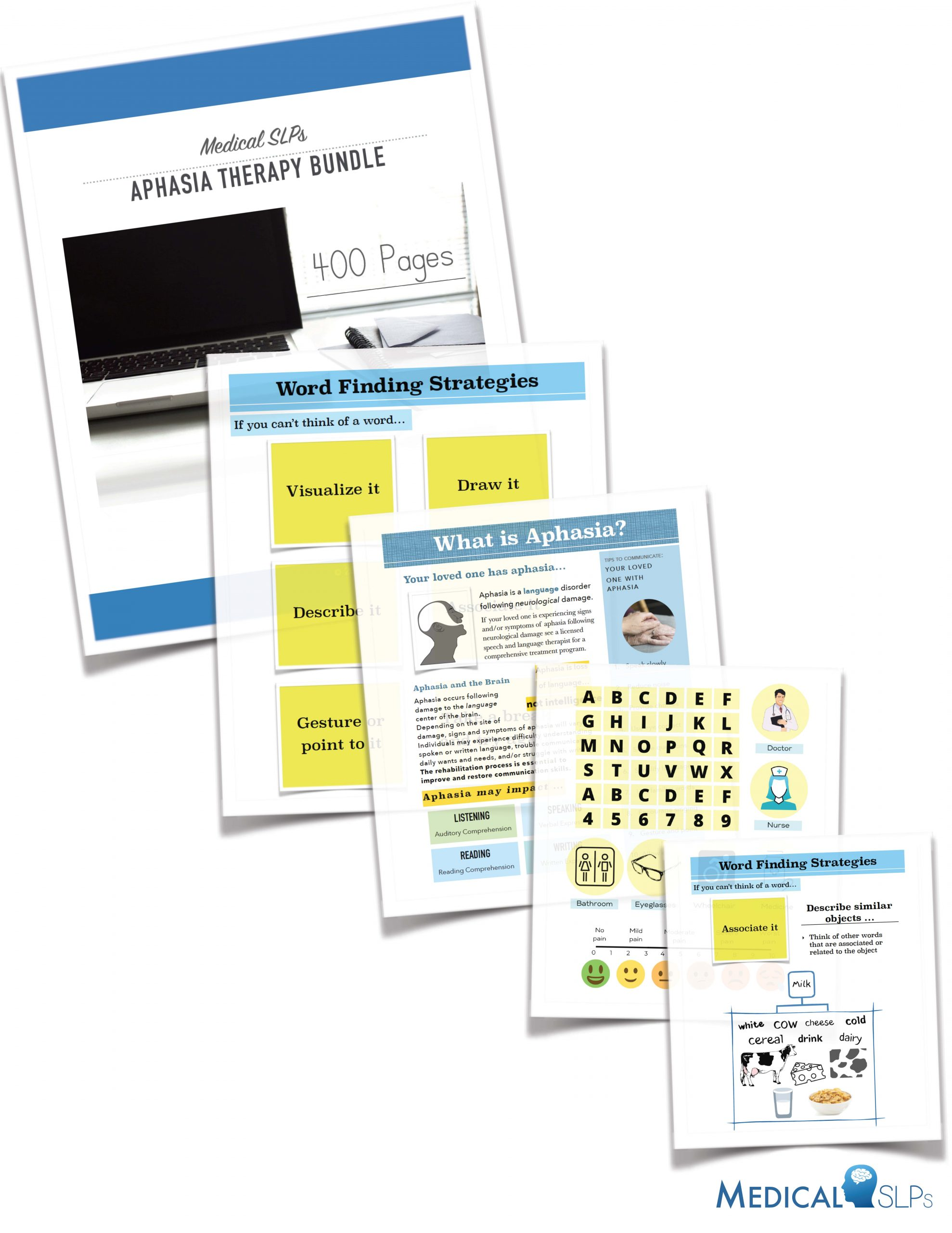 Aphasia Therapy Workbook