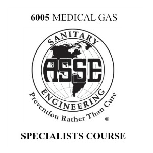 ASSE 6040 Medical Gas Training Course