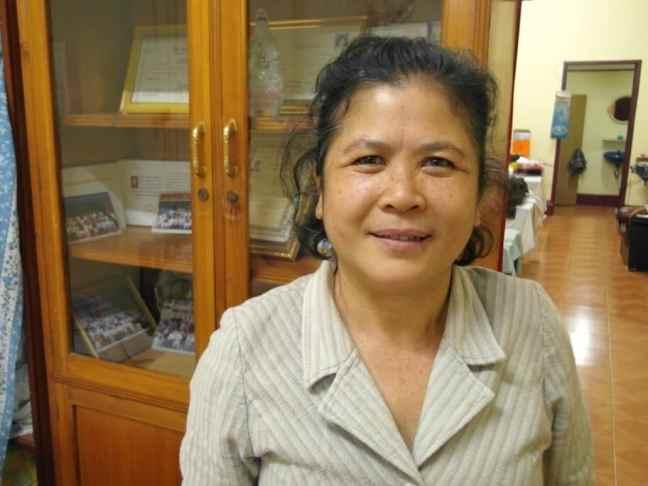 Dr. Sychanh Khamkong, acupuncturist in Vientiane, Laos