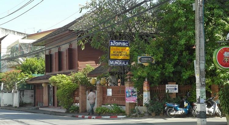 Mungkala clinic outside, Chiang Mai, Thailand