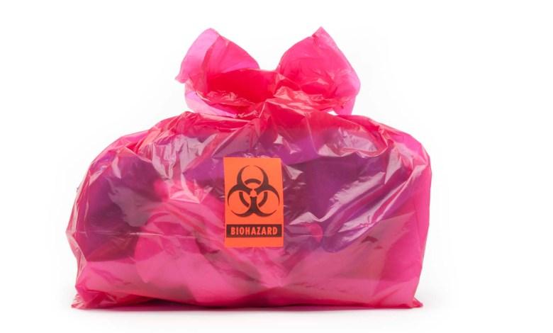 Photo of حالات الطواريء: التعامل مع حالات تمزق أكياس النفايات الطبية أو تكسر حاويات النفايات الحادة.
