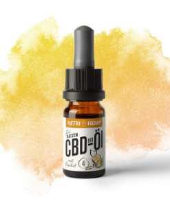 Vetrihemp Bio CBD 4% olej pro kočky a zvířata citlivá na chuť, 400mg