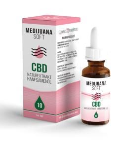 Medijuana10% CBD olej Soft, 920mg