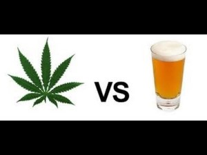 alkohol vs cannabis